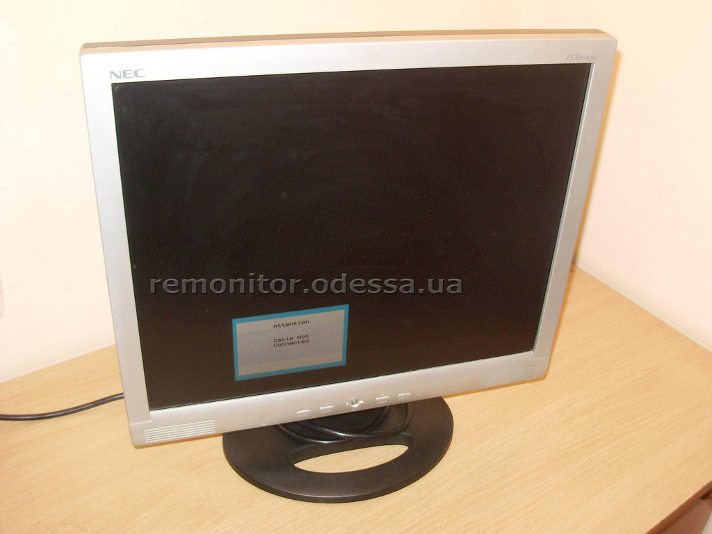 Ремонт монитора NEC LCD1703M