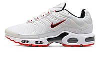 Мужские кроссовки Nike Air Max Plus TN+ White/Black/Red