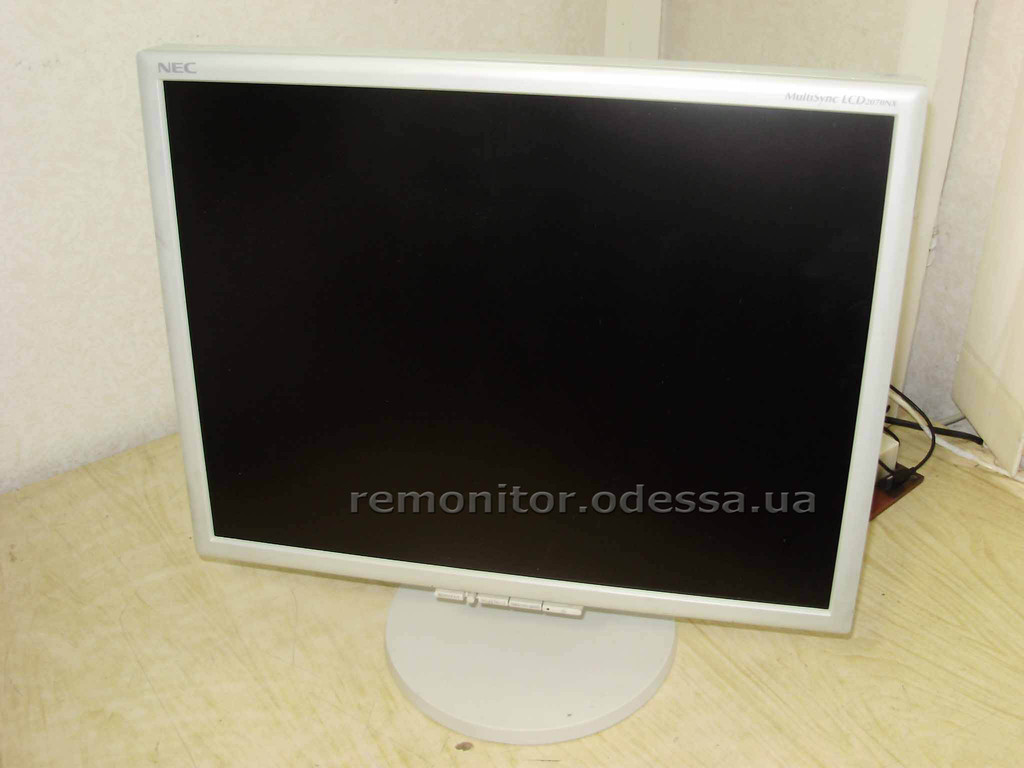Ремонт монитора NEC MultiSync_LCD2070NX