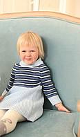 Сукня синє в смужку 4124, фото 1
