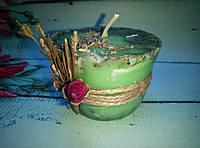 Ароматические свечи с эфирными маслами ручной работы