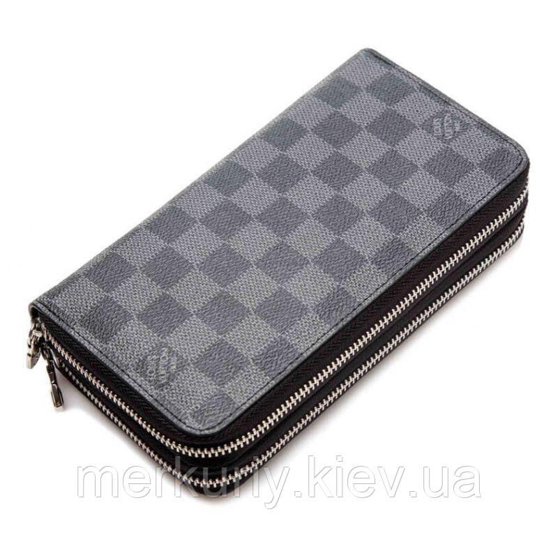 1552576fd56b Клатч-портмоне louis vuitton (Луи Витон) серый - Оптовый интернет-магазин