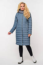 Женская демисезонная удлиненная куртка Стефания  р.52,64, фото 3