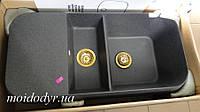 Кухонная мойка MARMORIN Opal 440513006 (02 черный), фото 1