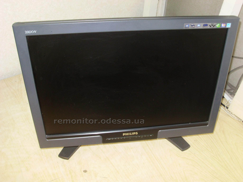 Ремонт монитора Philips 200XW7(HWB7200P)