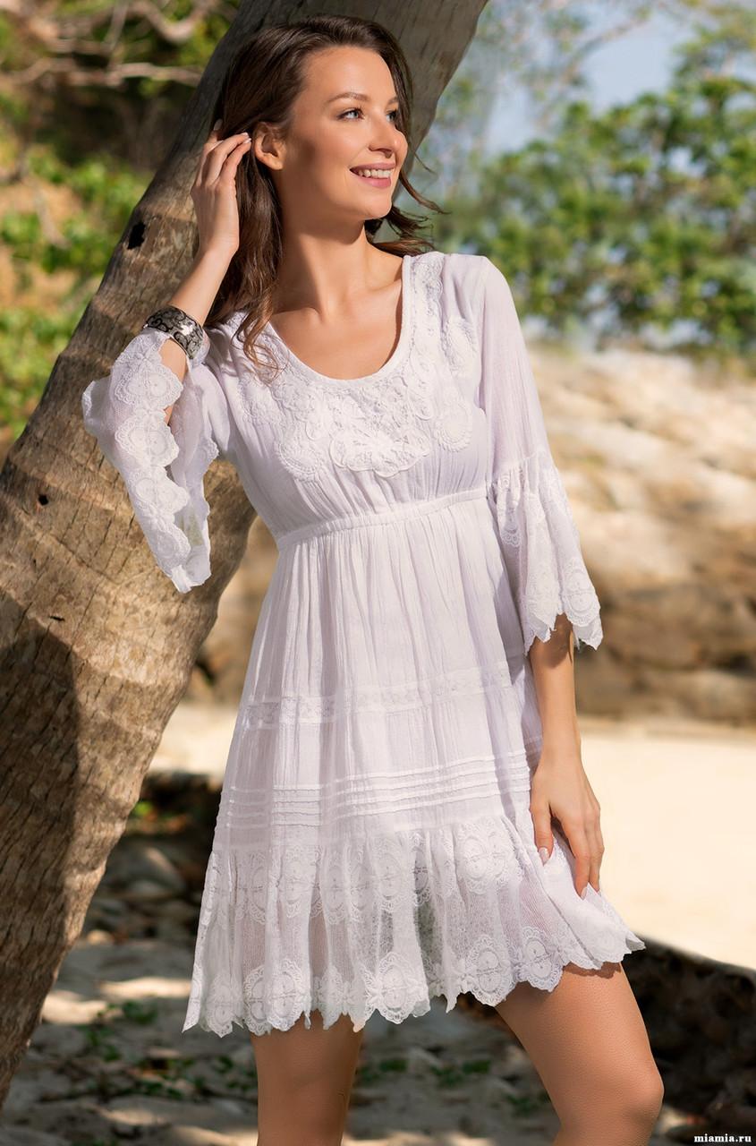 49492237ae5 Купить Женственное летнее платье. Италия. Mia Mia Санта-Моника 6881 ...