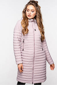 Женская демисезонная молодежная удлиненная курточка Дженифер, 42-64р