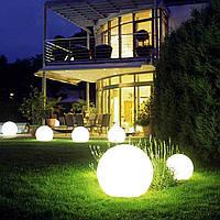 Надувной водонепроницаемый шар Noblest Art 12 см с аккумуляторной системой освещения NW3027, фото 1