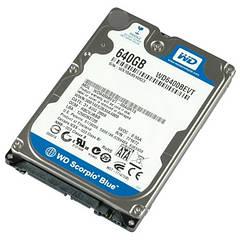 """Вінчестер для ноутбука 640GB SATA, 2.5"""" б/у"""