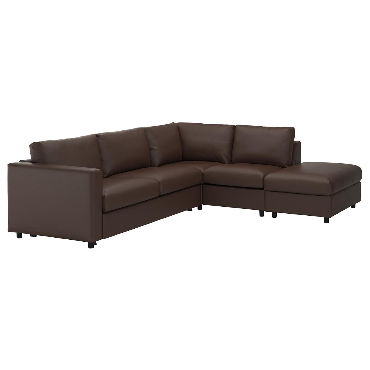 VIMLE Кутовий диван-ліжко, 4-х місцевий