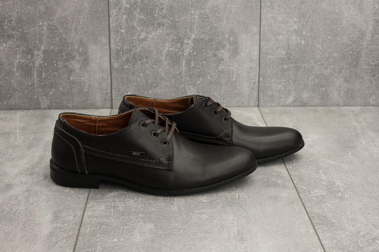786b843a9 ... Туфли Yuves М111 (весна/осень, мужские, натуральная кожа, коричневый),  ...