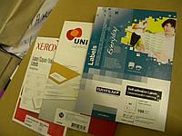 Самоклеющаяся бумага А4 21шт (63,5*38,1) Xerox