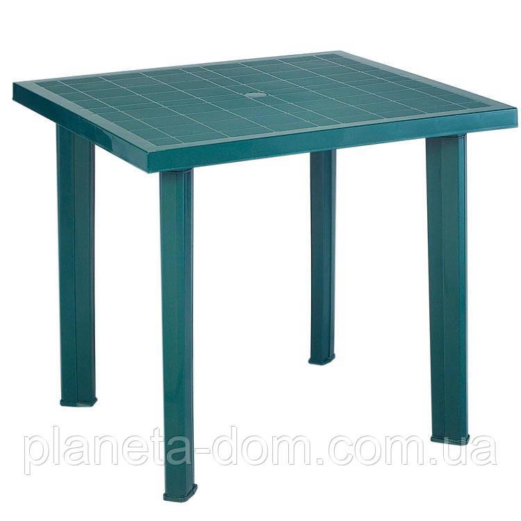 Стол FIOCCO зеленый 75*80