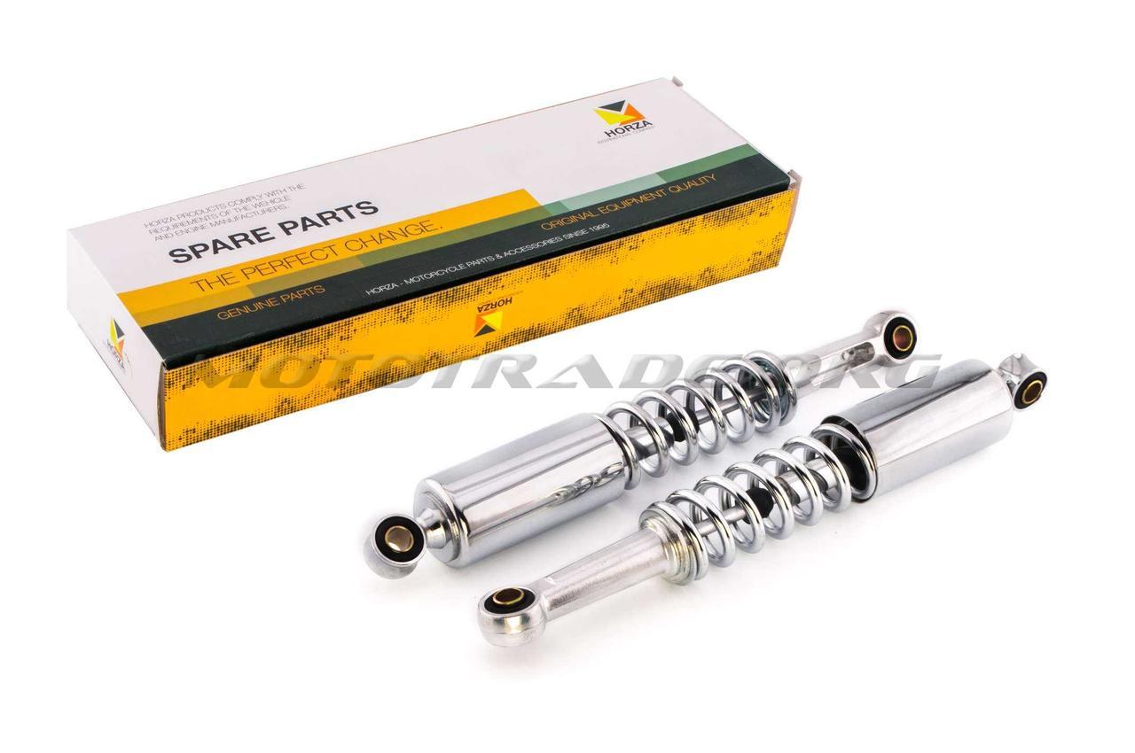 Амортизаторы (пара)   Delta   330mm, регулируемые   (хром, длинный стакан)   HORZA, пара