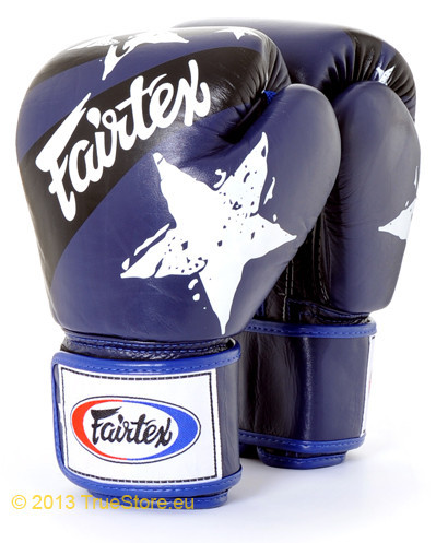 Боксерские перчатки Fairtex BGV1 Blue Nation 12