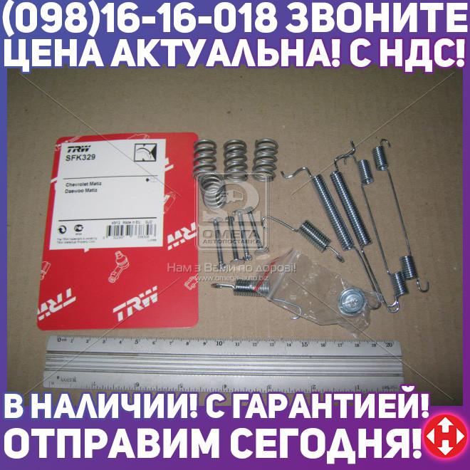 ⭐⭐⭐⭐⭐ Колодки тормозные комплект монтажный DAEWOO MATIZ задние (пр-во TRW) SFK329