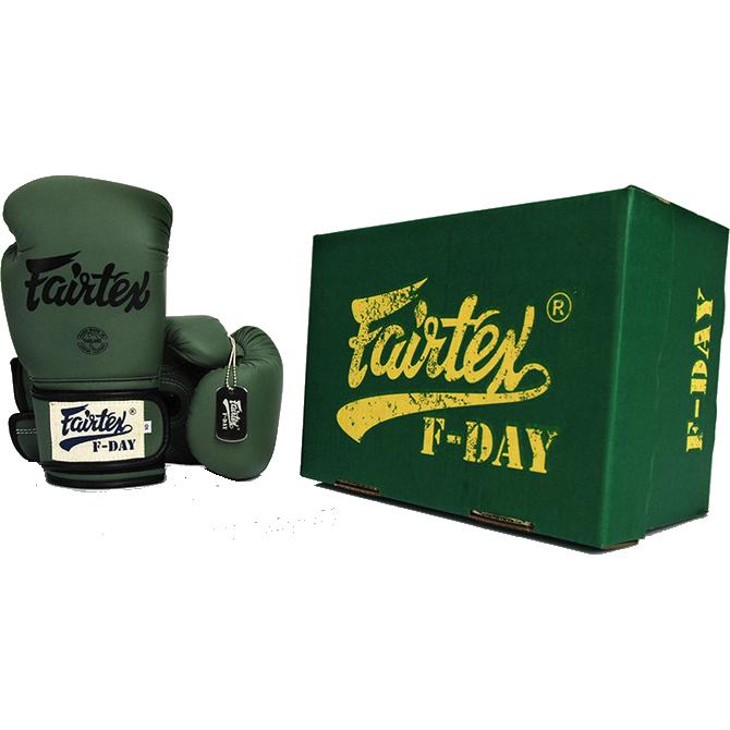 Боксерские Перчатки FAIRTEX BGV11 F-Day 10