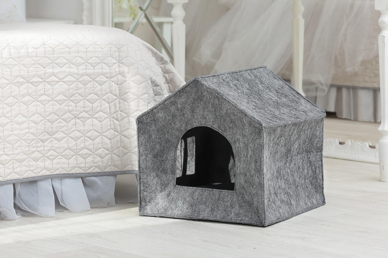 """Домик для животных """"Теремок"""" с подушкой , Digitalwool"""