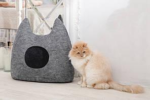 """Домик для животных """"Ушастик"""" с подушкой, Digitalwool"""