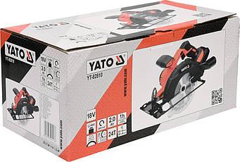 Акумуляторна шабельна пила Yato YT-82810, фото 2