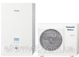 Тепловой насос Panasonic Aquarea T-Cap Bi-Bloc KIT-WXC12H6E5, 12кВт, 1фаза