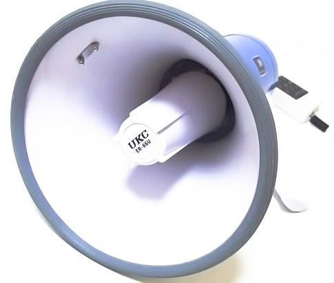 Громкоговоритель UKC Power Megaphone ER-66 USB 50W, фото 2
