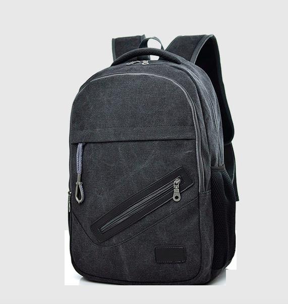 Рюкзак городской для ноутбука KinFolk черный