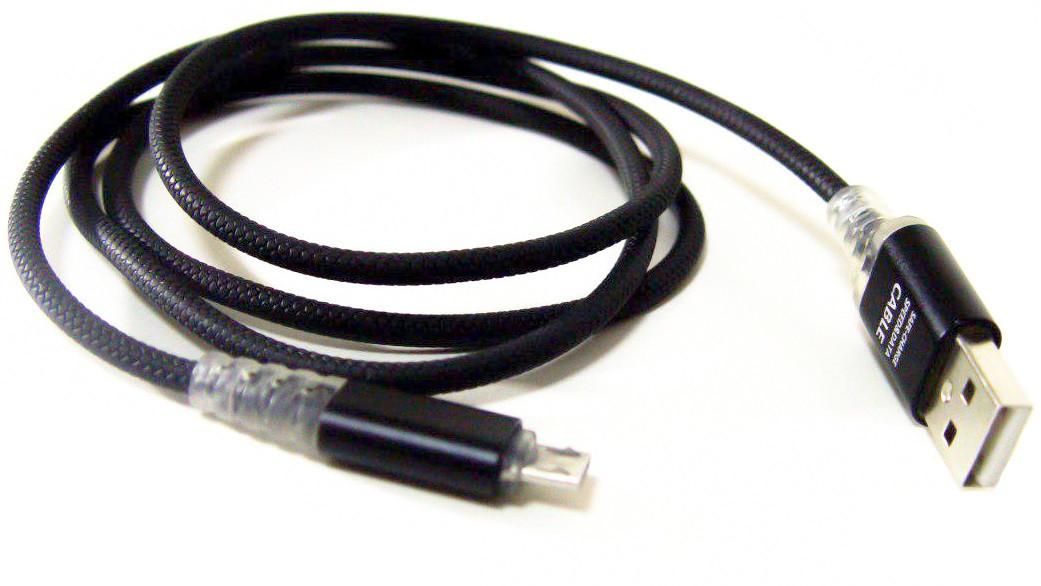 Кабель Micro Usb LED для смартфонов 4759