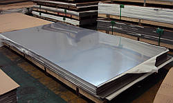 Лист нержавеющий AISI 430 0,5х1250х2500 мм полированный, матовый, шлифованный