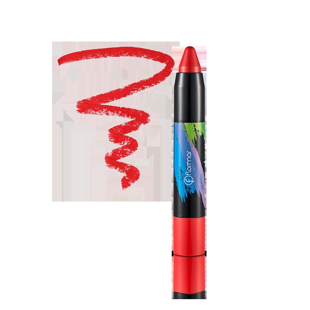 Помада-олівець Flormar Twist Up 54 Flame 2,8 г (2737346)
