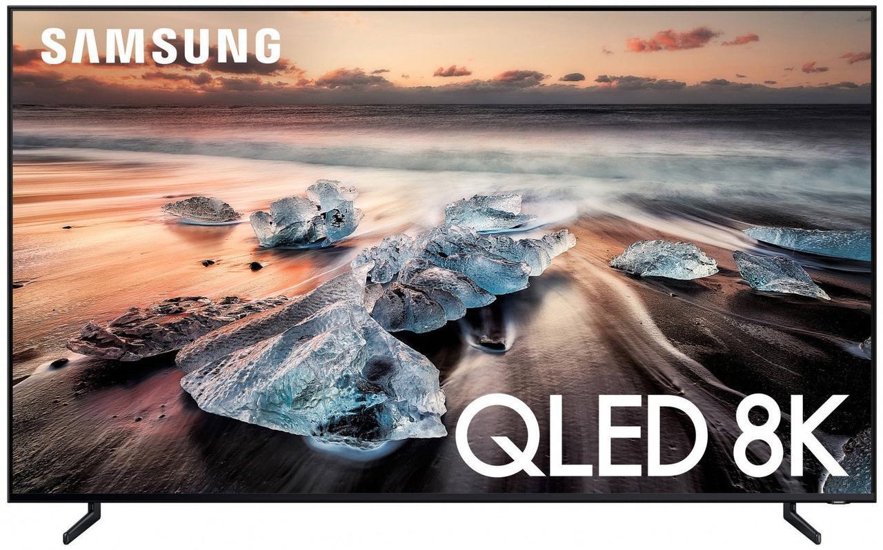 Телевизор Samsung QE75Q900R (PQI 4000, 7680х4320, 8K, 75 дюймов, Smart TV, Tizen,  Dolby Digital Plus)