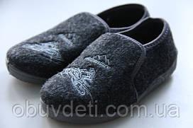 Тапочки-мокасины для мальчика 28-18.0 cm Zetpol Dominik czarny 1277