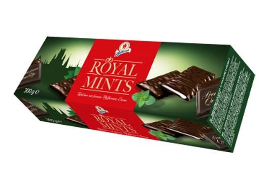 Halloren Royal Mints – десертный шоколад с мятной начинкой, 300 гр. Германия