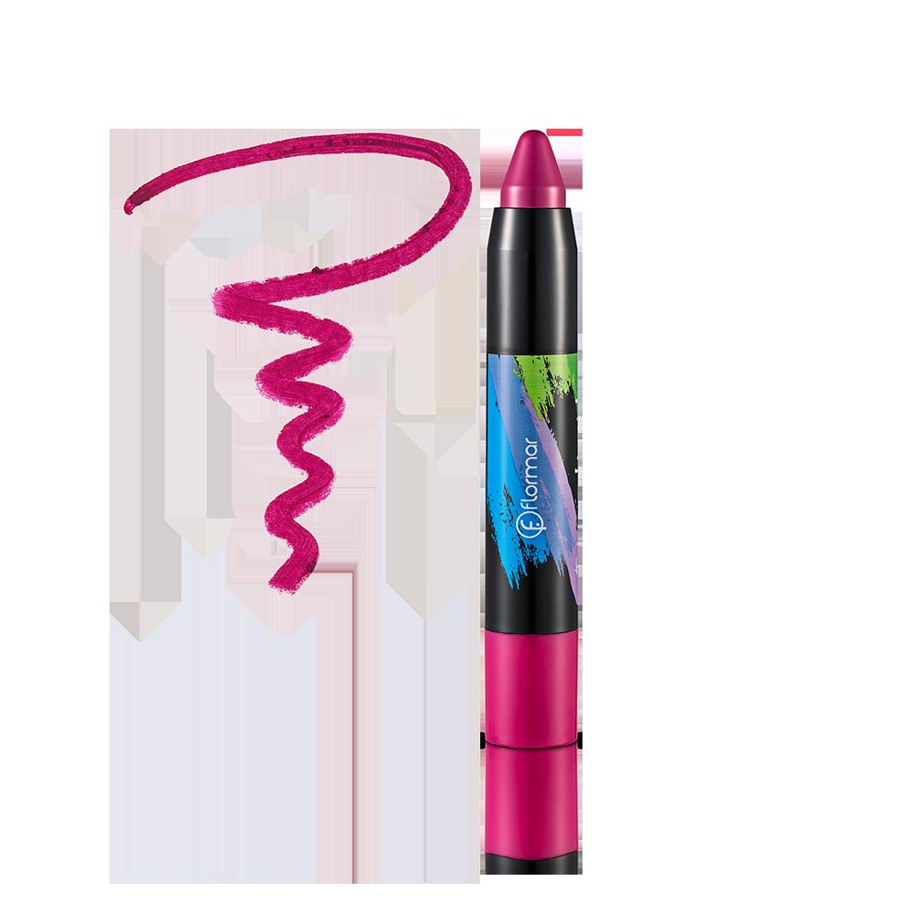Помада-олівець Flormar Twist Up 55 Raspberry 2,8 г (2737347)