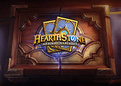 Картина GeekLand Hearthstone Хартстоун логотип 60х40см HS.09.003