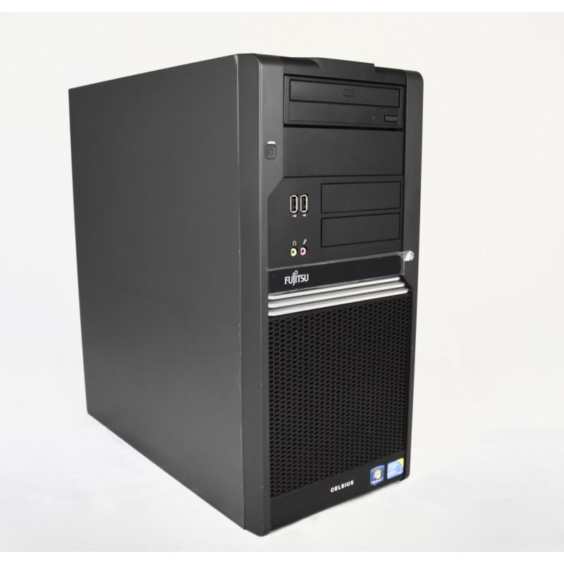 Системный блок, компьютер, Intel Core i3 2120, 4 ядра по 3,2 ГГц, 4 Гб ОЗУ DDR-3, HDD 160 Гб, видео 1 Гб
