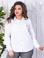 Рубашка женская батал    Жульена, фото 1