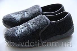Тапки в садик для мальчика Zetpol Dominik 31-20.5 cm czarny 1277