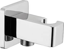 З'єднувач душового шланга з тримачем для лійки Deante CASCADA - квадратний