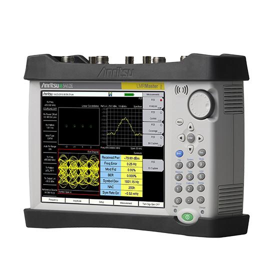 Анализатор модуляции подвижной радиостанции Anritsu LMR Master ™ Land S412E
