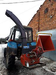 Рубительная машина дробилка PST160Т | Щепорез навесной на трактор | Измельчитель веток