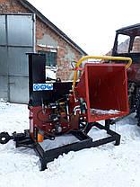 Рубительная машина щепорез PST160ТК | Дробилка для дерева | измельчитель веток, фото 2
