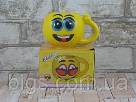 Чашка smile 300 мл ( чашка смайлик ) Глазки