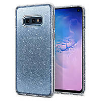 Чехол Spigen для Samsung Galaxy S10е Liquid Crystal Glitter, Crystal Quartz (609CS25834), фото 1