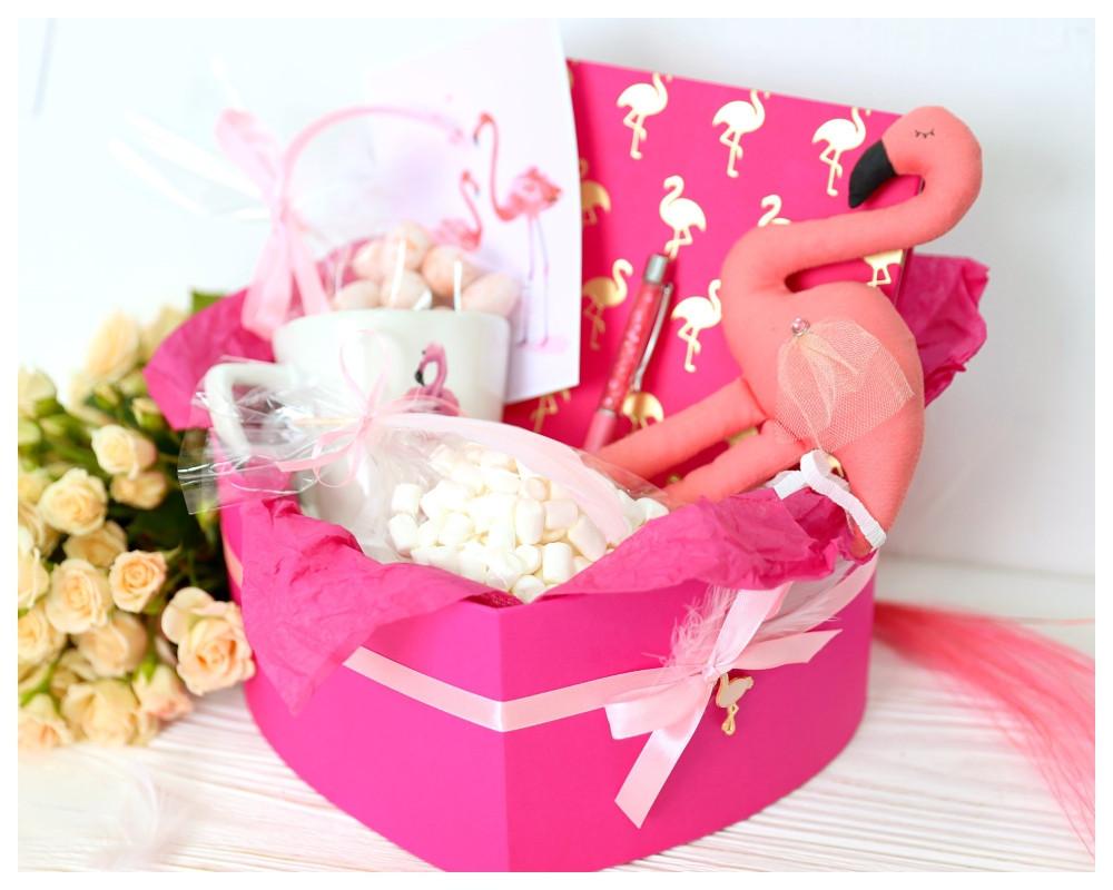 Подарочный набор «Розовый фламинго»