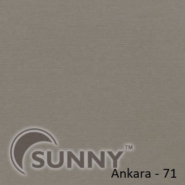 Рулонные шторы для окон в открытой системе Sunny, ткань Ankara - 3
