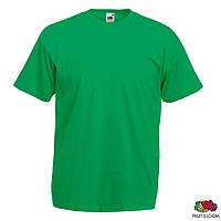 Футболка мужская XXL/54 Fruit of The Loom Valueweight T Зеленый от 100 шт
