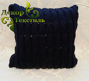 "Вязаная подушка, диванная ""Орфей"", фото 2"