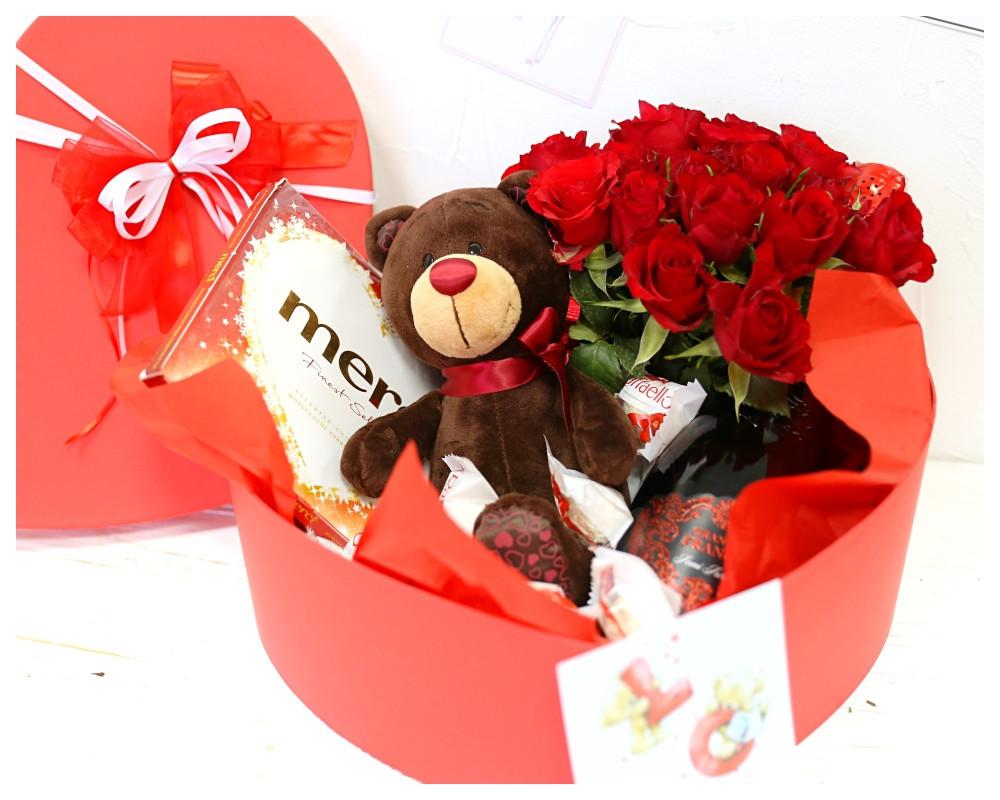 Подарок на 14 февраля девушке «От купидона»