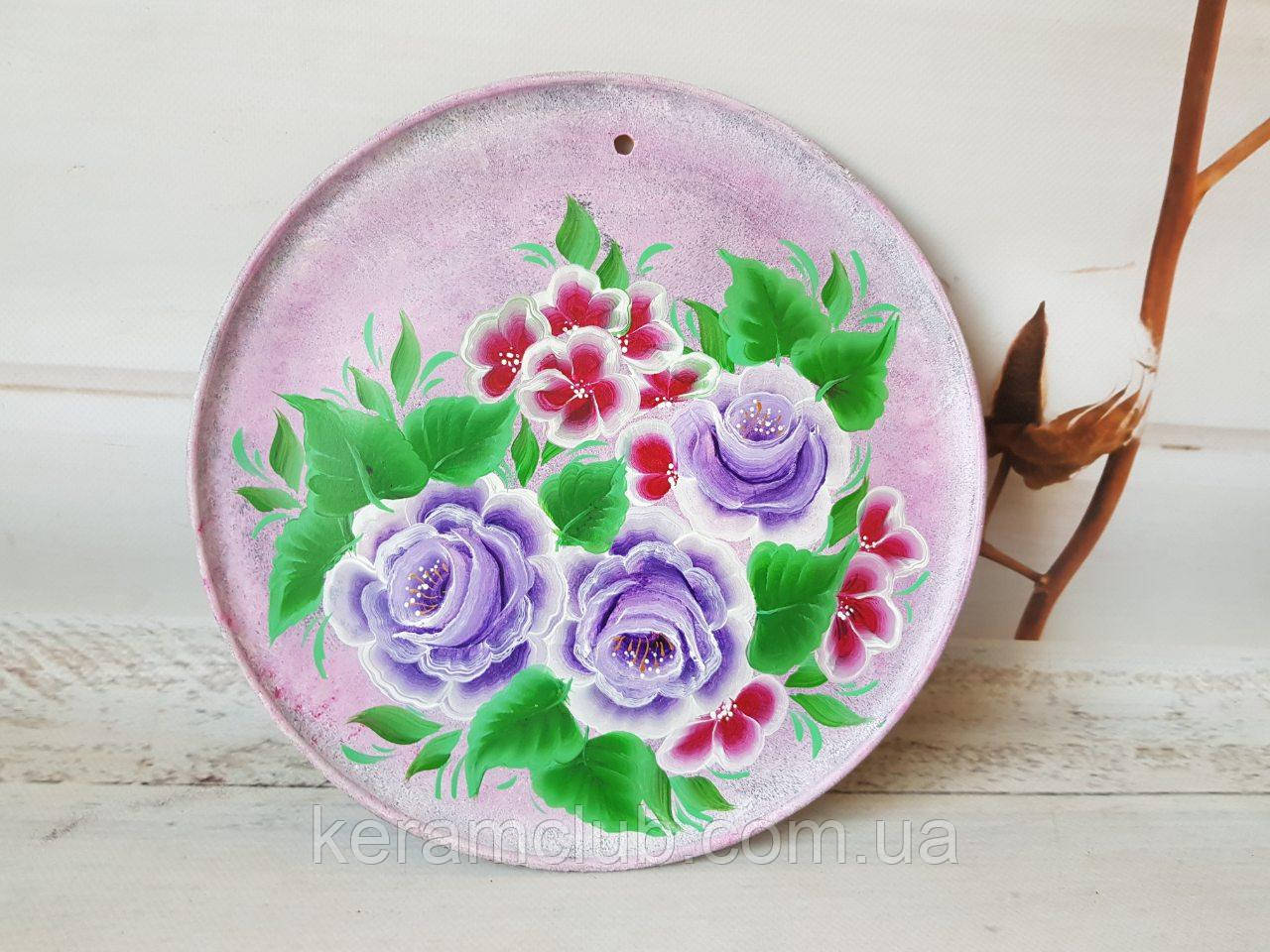 Настенное панно с ручной росписью